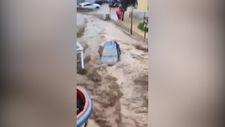 İspanya'da şiddetli yağış, sele neden oldu