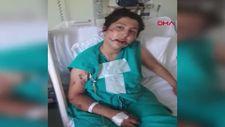 İzmir'de, 1 yaşındaki bebeğinin yanında dövülüp bıçaklandı