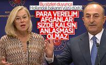 Mevlüt Çavuşoğlu: Biz para veririz bu iş çözülür anlayışından AB'nin vazgeçmesi lazım