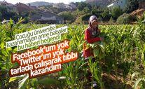 Adıyaman'da tütün tarlasında çalışan genç kız, tıp fakültesi kazandı