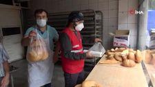 Kastamonu'da çamurdan temizlenen fırında ekmek üretimine başlandı