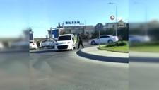 Arnavutköy'de seyir halindeki araca kurşun yağdırdılar