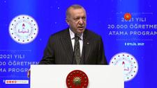 Cumhurbaşkanı Erdoğan: Çocukları okullardan uzak tutma lüksümüz kalmadı