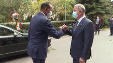 Hulusi Akar, Somalili mevkidaşıyla bir araya geldi