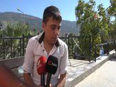 İzmir'de rakıyı su sanıp kazazedelerin başına döktü