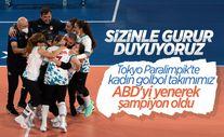 Tokyo Paralimpik'te golbol dalında şampiyon Türkiye