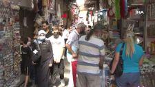 Eminönü'nde okul alışverişi yoğunluğu