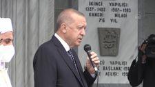Erdoğan, emekli vaiz Osman Yılmaz'ın cenazesine katıldı