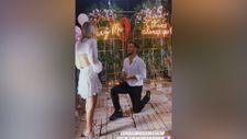 Galatasaraylı Oğulcan Çağlayan'dan sevgilisine evlilik teklifi