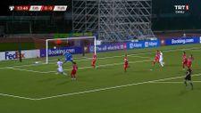 Halil Dervişoğlu'nun Cebelitarık'a attığı gol