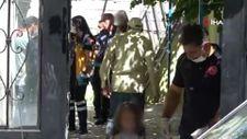 Kayseri'de eşini ve çocuklarını yakmak isteyen şahsı polis engelledi