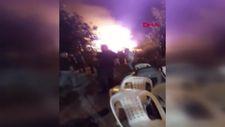 Kocaeli'de havai fişek yangın çıkarttı
