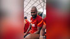 Marcao Galatasaray antrenmanında