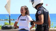 Mersin'de hırsız, genç kızı ağlattı