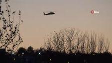 Terör bitti, helikopterler insan sağlığı için havalandı