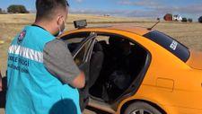 Ticari taksisine pozitif yolcu alan sürücü temaslı duruma düştü