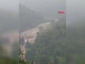 Bozkurt'taki sel felaketinden yeni görüntüler