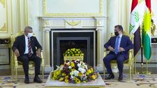 CHP heyeti, Mesrur Barzani ile görüştü
