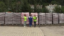 Kastamonu'ya sokak havyanları için 12 ton mama gönderildi