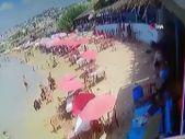 Lübnan'da plajda tüp patladı
