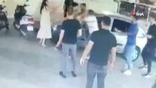 Aydın'daki cinayet anı kameralara yansıdı