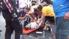 Balıkesir'de kazayı gördü 112'den yardım istedi, yaralı eşi çıktı