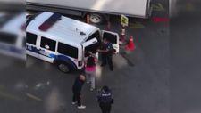 Bursa'da hırsızlık şüphelisi sevgililer, polise zor anlar yaşattı