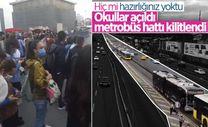 İstanbullular, okulların açıldığı ilk gün otobüs bulamadı