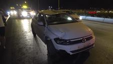İzmir'de zincirleme kaza: 1'i ağır 11 yaralı
