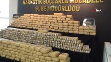 Şanlıurfa'da 275 kilogram eroin yakalandı