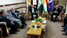 CHP heyeti Erbil'de Türkmen Bakan Maruf ile görüştü