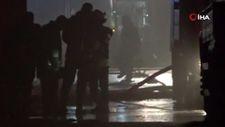Gaziantep'te lojistik firmasının deposunda yangın