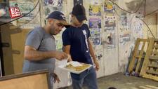 İsrail'de 6 Filistinli hapishaneden kaçınca tatlı dağıtıldı