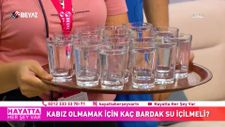 Kabız olmamak için kaç bardak su içilmeli?
