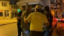 Bursa'da alkollü sürücüden polise: Hadi beni kelepçele