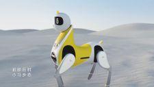 Dünyanın ilk binilebilir robot atı