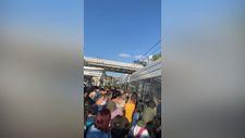 İstanbullu şimdi de tramvay arızasıyla karşılaştı