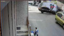 Şişli'de çöp atan yaşlı adama otomobil çarptı