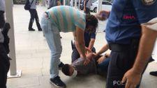 Antalya'da adliyede kaçma girişiminde bulundu vatandaş çelme takınca yakalandı