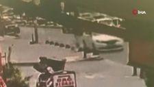 Arnavutköy'de yolun karşısına geçmeye çalışan çocuğa otomobil çarptı