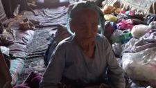 Aydın'da, eşinin vasiyeti ile ömrünü taş evde geçirdi
