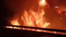 İspanya'da tatil beldesinde yangın