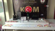 İstanbul'da sahte belge basılan matbaaya baskın
