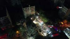 İzmir'de yıkılan 'Doğanlar Apartmanı'
