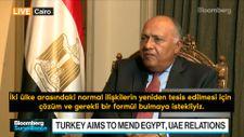 Mısır: Türkiye ile ilişkileri yeniden tesis etmek için istekliyiz