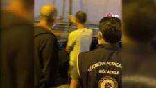 TEM'de durdurulan tırın dorsesinde 112 kaçak göçmen yakalandı