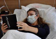 Eskişehir'de aşı yaptırmayan ve virüse yakalanan anne, bebeğini 'çevrimiçi' gördü
