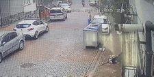 Kağıthane'de tek teker şovu kazaya dönüştü