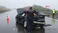 Kocaeli'de kayganlaşan yol kazaya neden oldu: 1 ölü