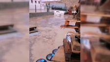 Kütahya OSB'de 4 fabrika su altında kaldı